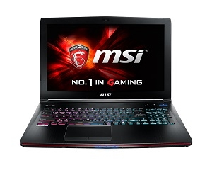 MSI GE62 2QE-204TH Apache