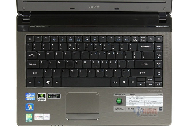 Image Of Acer Aspire 4750