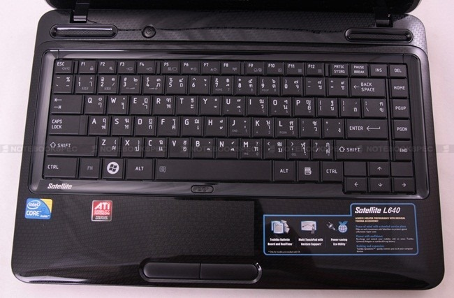 TOSHIBA Satellite L640-1182UT