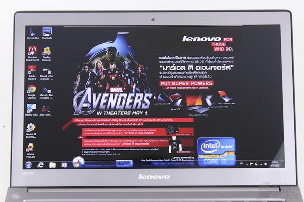 Lenovo IdeaPad U300E Review 10