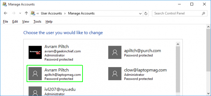 how to change pc guest account permissions windows 10