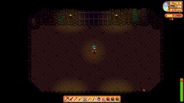 how to open the caves in stardew valley