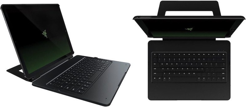 Razer Mechanical Keyboard Case for Apple iPad Pro 600 01