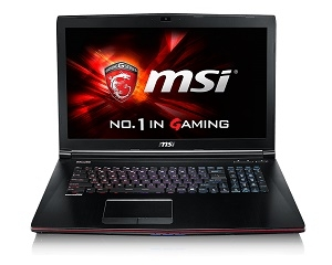 MSI GE72 2QE-070TH Apache