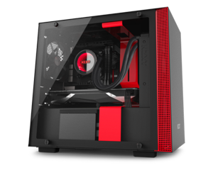 NZXT H200i Black-Red