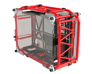 IN WIN D-FRAME Red