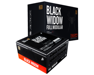TSUNAMI Black Widow 600W