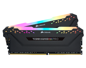 CORSAIR Vengeance PRO RGB DDR4 16GB (8GBx2) 3200 Black