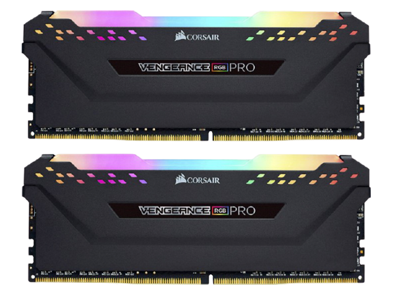 CORSAIR Vengeance RGB Pro DDR4 32GB (16GBx2) 3600 Black