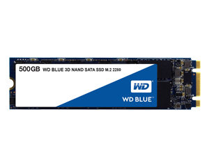 Western Digital Blue 500GB 3D NAND M.2