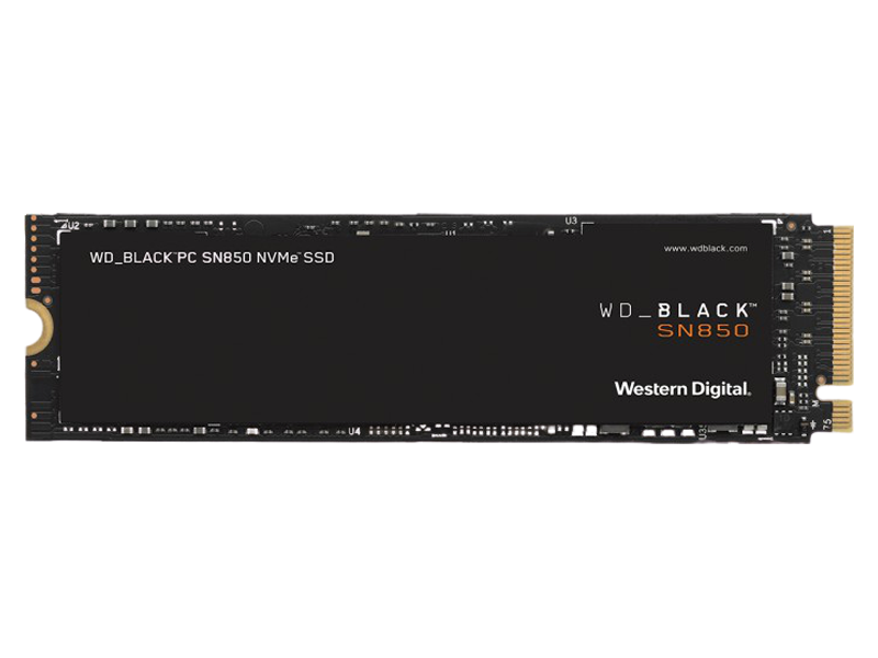 Western Digital SN850 SSD 500GB Black