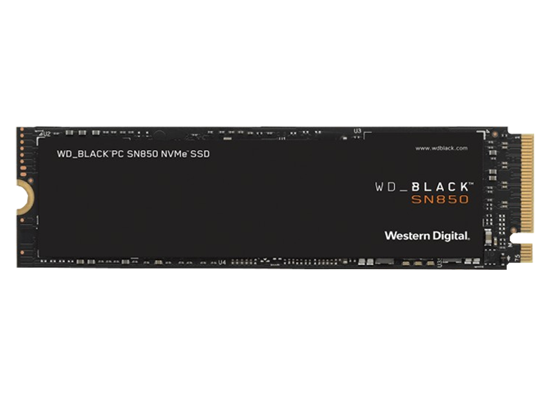 Western Digital SN850 SSD 1TB Black