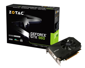 Zotac GTX960 Single Fan 2GB