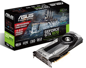ASUS GTX1070 Founders Edition