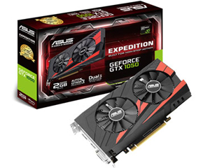 ASUS GTX1050 EXPEDITION