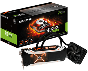 GIGABYTE GTX1080 XTREME GAMING WATERFORCE