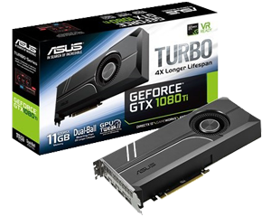 ASUS TURBO GTX1080Ti 11GD5