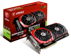 MSI GTX1080 Gaming X Plus 11 Gbps
