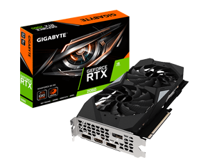 GIGABYTE RTX 2060 WINDFORCE 2X OC