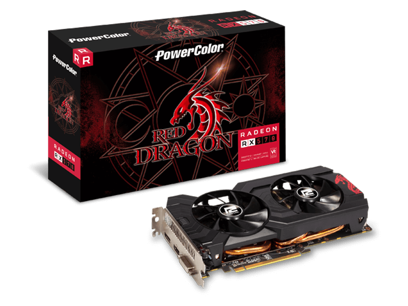 POWER COLOR Red Dragon Radeon RX 570