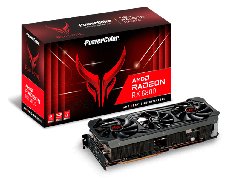 POWER COLOR Radeon RX 6800 Red Devil