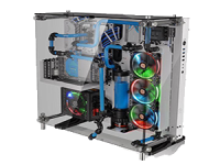 THERMALTAKE Core P5 Tempered Glass Snow Edition