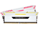CORSAIR Vengeance RGB DDR4 16GB 3200 (8GBx2) White