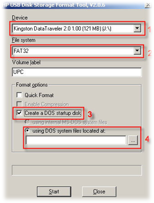 วิธีการทำ Flash Drive ให้ออกหน้า Dos - Notebookspec