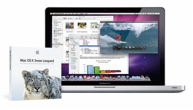 แอปเปิ้ล เตรียมส่ง Mac OS X Snow Leopard ลงตลาดวันที่ 2 กันยายนนี้