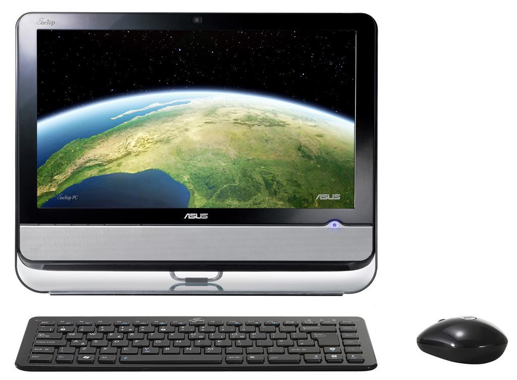ASUS EeeTop PC ET Series คอมพิวเตอร์พีซี ที่สมบูรณ์แบบด้วยระบบมัลติมีเดียเปิดโลกการสื่อสารและความบันเทิงแบบ High Definition ได้ง่ายเพียงปลายนิ้วสัมผัส