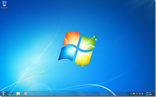 หน้าตาของ Windows 7