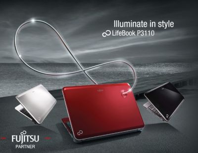 Fujitsu LifeBook P3110 ดีไซน์ที่เบาบาง ตอบทุกไลฟ์สไตล์ได้อย่างลงตัว