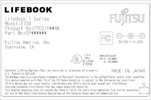 Fujitsu 22