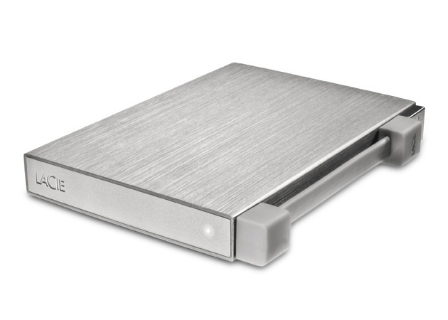 001-1 LaCie เปิดตัว Rikki ฮาร์ดดิสก์ตัวเล็กกล่องโลหะตอนนี้มีขนาด 1 TB แล้ว