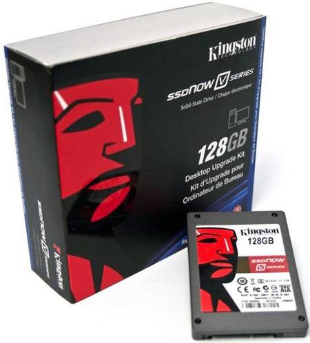 001-02 Kingston SSDNow V 128 GB ประสิทธิภาพที่คุ้มราคา