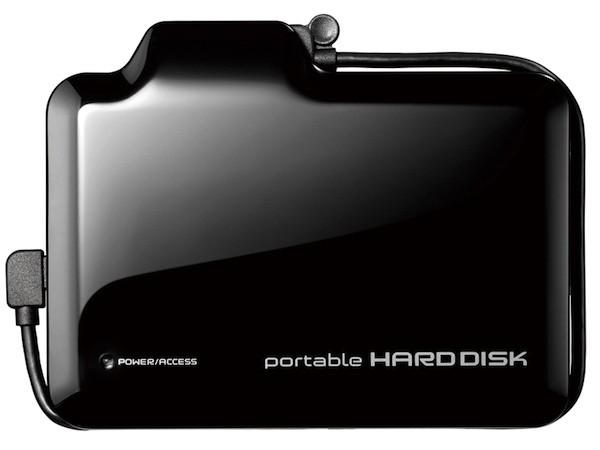 003-1 I-O Data HDPN-U500V ฮาร์ดดิสก์แบบพกพาที่ดูดวิดีโอจากกล้องแล้วเล่นออกทีวีได้เลย