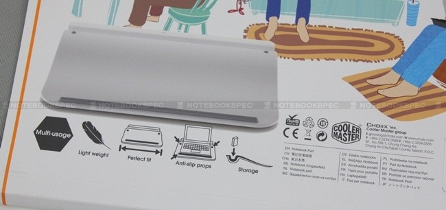 004 Choiix Comforter Lapdesk ความสบายในทุกท่าทาง