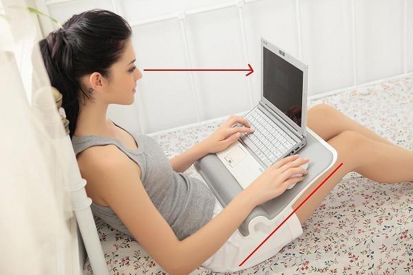 022 Choiix Comforter Lapdesk ความสบายในทุกท่าทาง