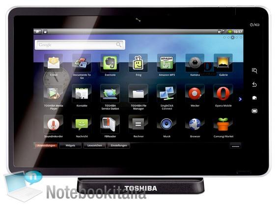 03-01 Toshiba Tegra 2 Android Smart Pad มีชื่อแล้วว่า...Folio 100 เนี่ยนะ