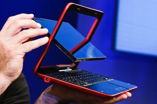 02-01 มาลองดู Dell Inspiron Duo มาพร้อม Intel Atom N550 ใกล้ๆ