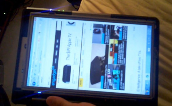 02-01 เมื่อ Asus Eee PC ขนาด 10 นิ้ว โดนดัดแปลงเป็น Tablet ซะ