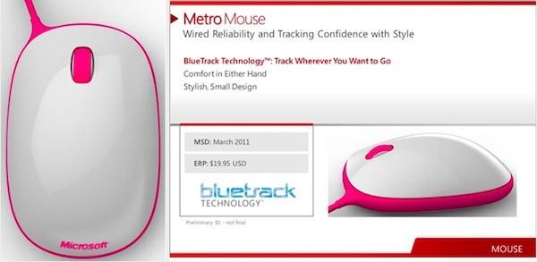 04-01 หลุดจาก Microsoft อีกแล้ว คราวนี้ เม้าส์สวยๆ น่ารักๆ ราคาถูกๆ ชื่อว่า Metro