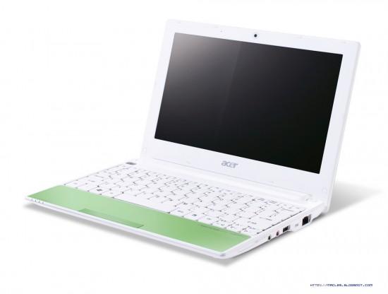 04-01 Acer Aspire One เน็ตบุ๊กตัวใหม่มาพร้อมสีสันแห่งความสนุก