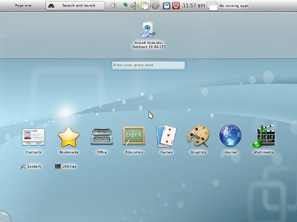 04 Kubuntu Netbook Edition