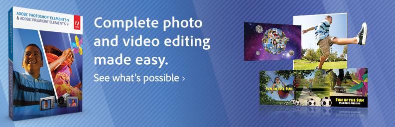 05-01 Photoshop Elements 9 และ Premiere Elements 9 Bundle ออกขายแล้วทั้ง Mac และ PC
