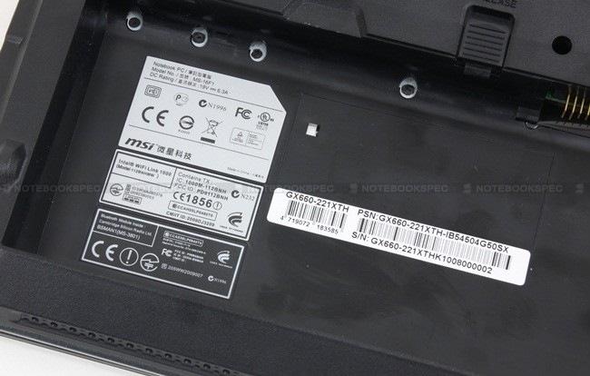 11 MSI GX660