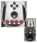 16 programmable buttons plus D-pad