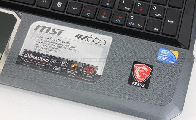 20 MSI GX660