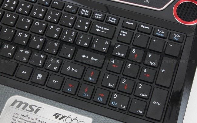 30 MSI GX660