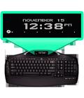 Dynamic keyboard display